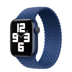 Apple 시계 Se 시리즈 6을%s 시계 줄은 40mm Iwatch를 위한 44mm 길쌈한 단 하나 루프 결박을 5/4/3/2/1의 38mm 42mm 부속품 2020년 끈으로 동인다