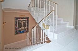 Puro polido/Neve/Crystal Vietname pisos de mármore branco/parede/Piscina/Hotel/Decoração Moderna
