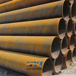 Les tuyaux soudés SSAW API de grande taille X42 12 m de longueur des tubes en acier