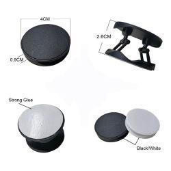 Foldable 셀룰라 전화 홀더 대를 접히는 전화 대 다색 플라스틱을 인쇄하는 로고