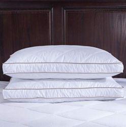 Cubierta de la almohada de algodón natural Downproof Edredones Almohadas de plumas