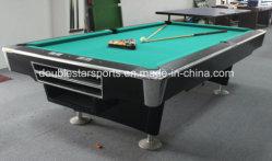 Slate 9.5FT sólidos de madeira mesas de bilhar, mesas de bilhar