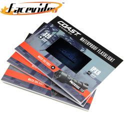 Smart Media Design mp4 écran LCD 7 pouces Cadre Photo Numérique livre Brochure pour la promotion des entreprises Invitation Carte de Noël