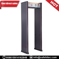 O Detector de Metal da estrutura da porta a pé através de scanners de segurança para Shopping Mall SA IIIC