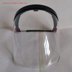 Conjunto Industrial Casco Visor transparente Protección cabeza Protección Visor