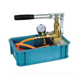 Teste a bomba de pressão manual (SB)