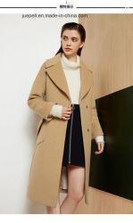 Senhoras mulheres engrossar lã longo inverno casaco quente