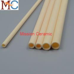 산업용 95% 99.7% Al2O3 알루미늄 세라믹 튜브