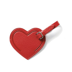 Coeur cuir synthétique Lady Fashion Luggage Tag petite maroquinerie