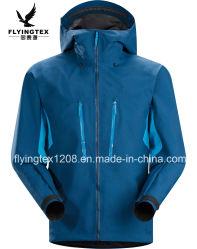 3 Schicht-Winter-Umhüllungen-Kleidung 100% der Polyester-Männer für Softshell Umhüllung 3 in 1 Umhüllung