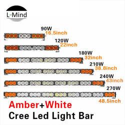 Оптовая торговля багги по просёлочным дорогам 4X4 комбинации противотуманных фар освещения желтые белый светодиодный индикатор бар