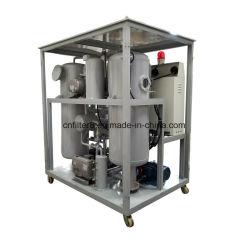 Eliminação de resíduos de óleo do transformador da Unidade de regeneração