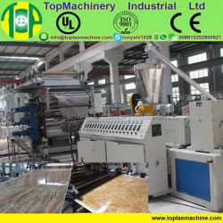 Пластиковый человеком искусственные декоративные панели лист обтекатели WPC ПВХ мраморные панели машины экструзии