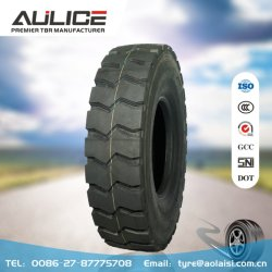 11.00R20 Tous les pneus de camion radial en acier,AR666 AULICE TBR/OTR pneus,d'usine de pneus de camion lourd spécial pour la zone minière,déchirure et la perforation de la résistance exceptionnelle