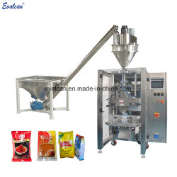 Автоматическое наполнение подушек безопасности порошка машина для упаковки кофе молоко сахар соль специи упаковка