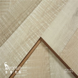 7mm 8mm 10mm 12mm materieller Holz-Laminat-Bodenbelag in China