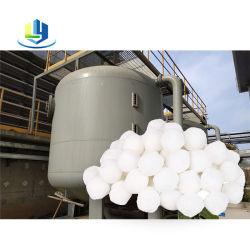 I corpi filtranti modificati filtrazione fine delle sfere della fibra puliscono il trattamento delle acque industriale del raggruppamento delle sfere del filtro