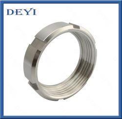 DIN11850 DIN11851 위생 스테인리스 스틸 SS304 SS316L 유니언 둥근 너트