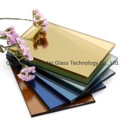 Globalstar 5mm 5,5 mm 4 mm 6 mm/teinté bleu foncé/vert foncé/brun/effacer/Golden/Rose/Gris Gris foncé/Euro/Ford bleu/vert clair Verre flotté réfléchissante