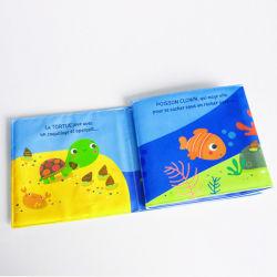 Floating Baby Bath Book, Libro de juguete educativo, resistente al agua espuma EVA en el libro para niños