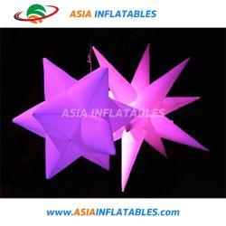 Aufblasbare Spiky Kugeln Dekoration mit LED-Beleuchtung / Aufblasbare Beleuchtung Stern