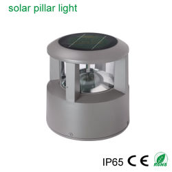 Installare facilmente la lampada solare del giardino della lampada del LED dell'indicatore luminoso verde esterno chiaro del prato inglese con la lampada calda + bianca del LED