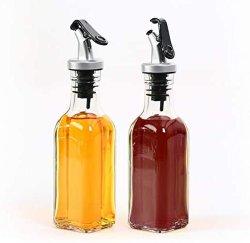 Het Mengen zich van de Keuken van de eetbare Olie het Multifunctionele Duurzame Glaswerk van de Fles van het Glas van Reeksen