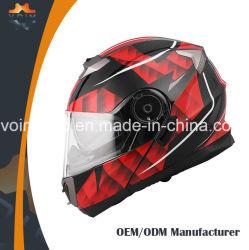 De goedkope Helm van de Fiets van ECE voor Motorfiets die de Volledige Helmen van de Motorfiets van het Gezicht rennen