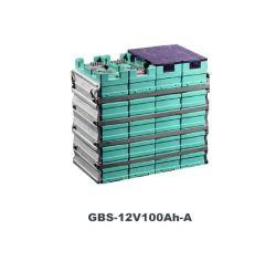 12V LiFePO4電池のパックの直列接続