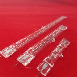 Calefacción por infrarrojos de onda corta de tubo de cuarzo halógeno calentador