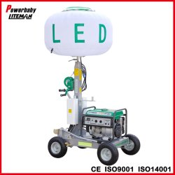 1000w Mobile Globo de iluminación LED YAMAHA Motor/Torre de Luz para el exterior