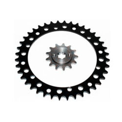 Prodotti guidati che corrono la ruota dentata anteriore d'acciaio 13t del motociclo