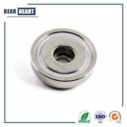 Custom металлические неодимовые магниты потенциометра наружного кольца подшипника/Неодимовый нагнетательного цилиндра
