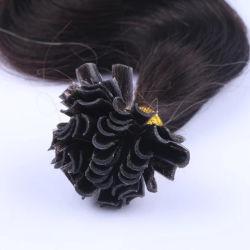 """16""""-24"""" 50 capítulos de la Queratina recta cápsulas derechos Fusion Secador de uñas U Sugerencia Máquina Remy Pre-Bonded Hair Extension 1g/pieza"""