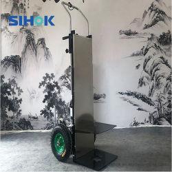 화물 저가를 가진 판매를 위한 이동하는 손수레 2 바퀴 층계 등반자 전기 Handtruck