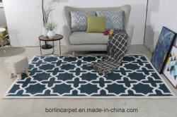 Handgemachte Teppiche, hoher Schnitt, niedriger Schleifen-Gelbhollywood-Teppich