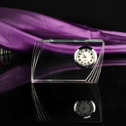 De Ambacht van de Klok van de Lijst van het Glas van het kristal en van de Klok van het Bureau