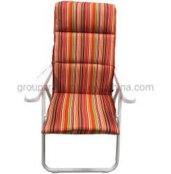 Floding colorés chaise de plage avec du coton