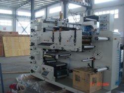 Etiquetas de papel automático placa flexível máquinas de impressão