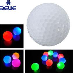 LED de promotion de taille standard OEM Balle de Golf
