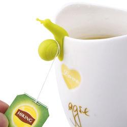 茶袋用のカタツムリモデリングシリコンティーインユーザー
