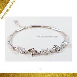 Nieuw Product Cool Rhodium Jewelry cubic Zirconia Crystal Armband voor Groothandel