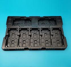 La copertura superiore a gettare della scheda della bolla del contenitore di pacchetto di imballaggio di plastica imballa il cassetto antistatico