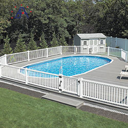 الصفحة الرئيسية استعمل المبارزة المحمولة الألومنيوم حوض السباحة الجدار السلامة