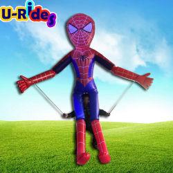 El hombre araña juguetes inflables inflables caminar / dibujos animados para publicidad