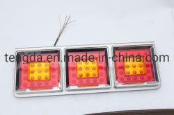 Погрузчик задний светодиодный светильник погрузчик задние фонари Универсальный светодиодный задний фонарь освещения прицепа с остановкой, задних фонарей заднего хода и поворота