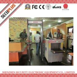 het Systeem van de Inspectie van de Röntgenstraal van de Bagage van de Veiligheid van de Luchtvaart van 6 kleuren voor Hof, Gevangenis