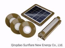 4W/5V alta luminosidade gratuitamente o Kit de Iluminação Solar de telefone móvel/Sistema/Luz de LED