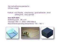 ギフト用の箱、ワインボックス、靴箱のパッキング使用法の熱い溶解の接着剤の微粒
