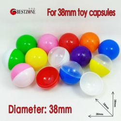 مقبّل لعبة صغير مصنوع من البلاستيك عالي الجودة بحجم 38 مم